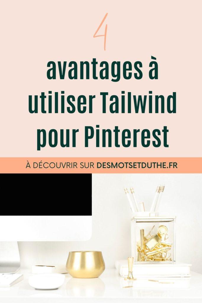 Les avantages de Tailwind en marketing Pinterest