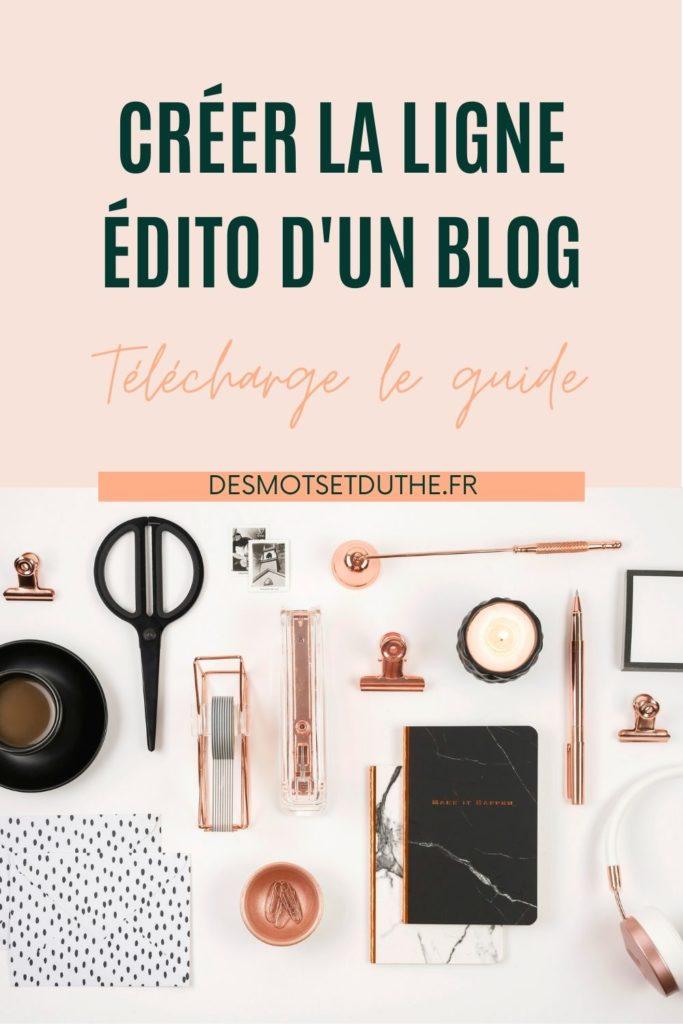 Comment créer la ligne éditoriale d'un blog ?