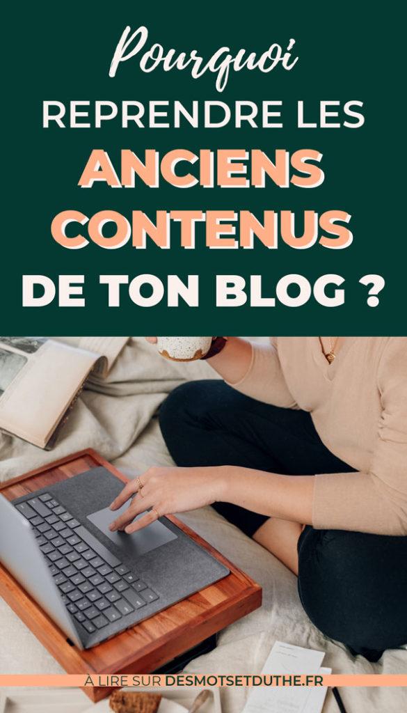 Retravailler tes anciens articles blog : pourquoi le faire ?