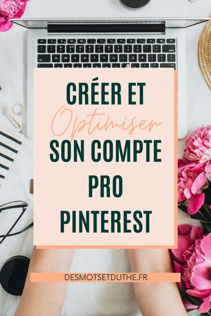 Créer et optimiser son compte Pinterest pro