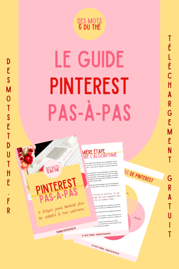 Comprendre Pinterest : le guide gratuit